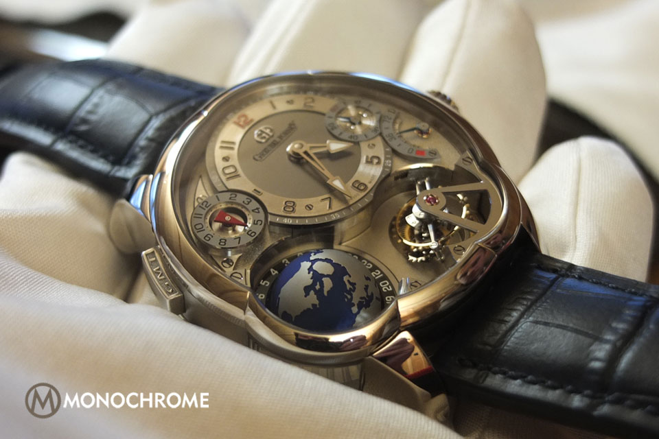 Greubel Forsey GMT white gold