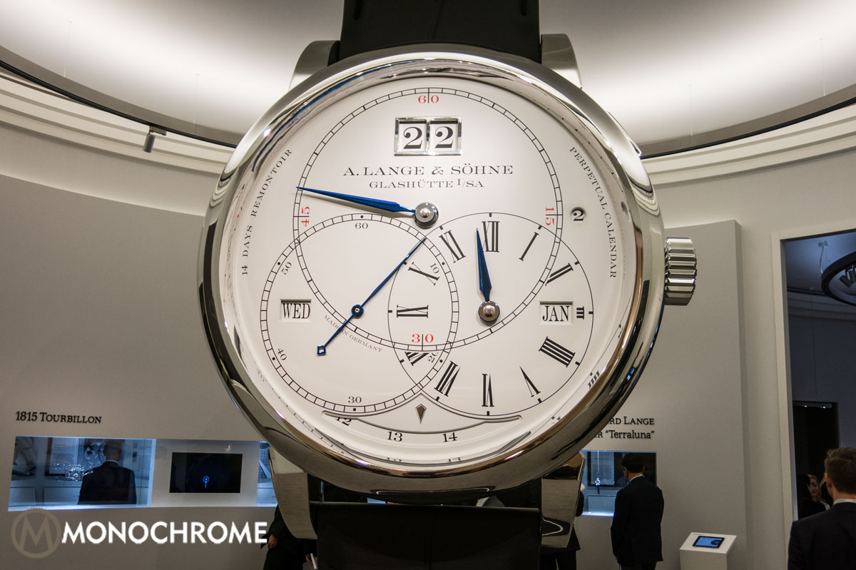 Lange & Söhne booth SIHH2014