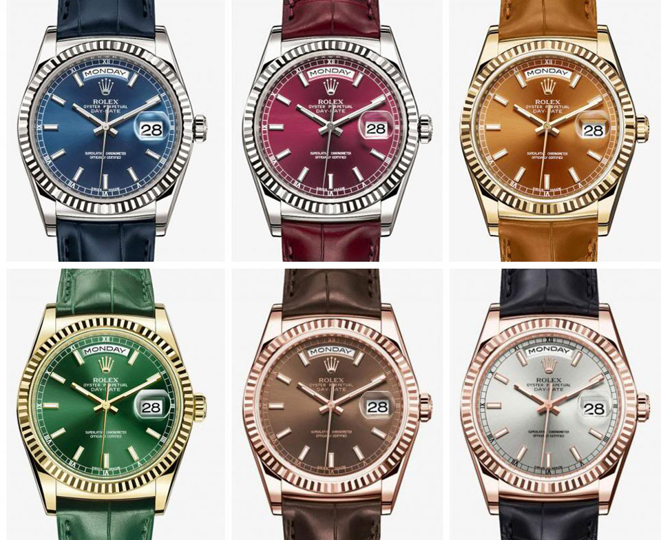 Rolex Day-Date 2013 collection