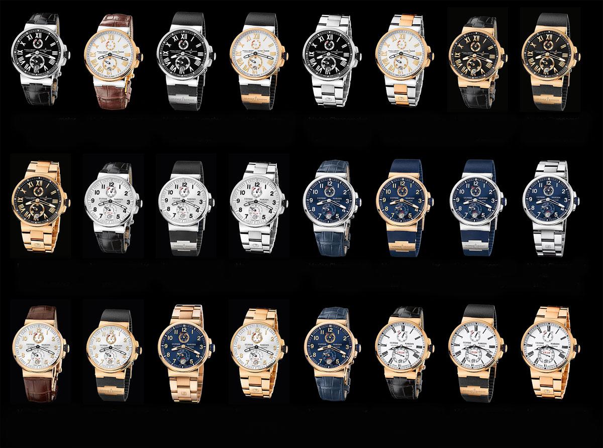 Ulysse Nardin Marine Chronometer Manufacture 2013 collection