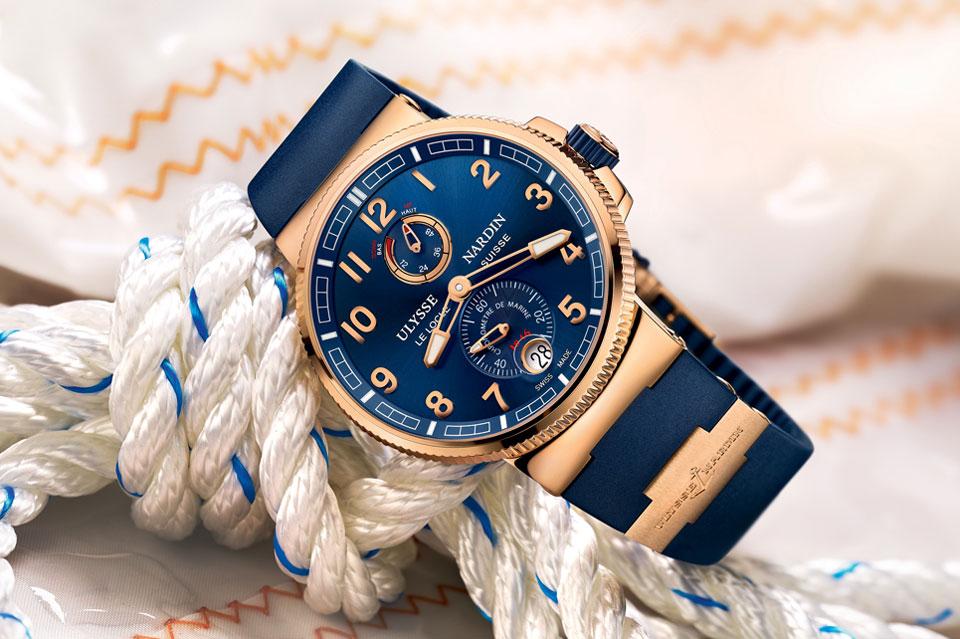 Ulysse Nardin Maxi Marine Chronometer Manufacture 2013