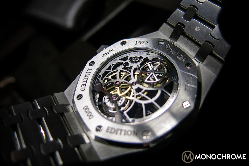 Audemars Piguet Royal Oak Skeleton Tourbillon steel prototype