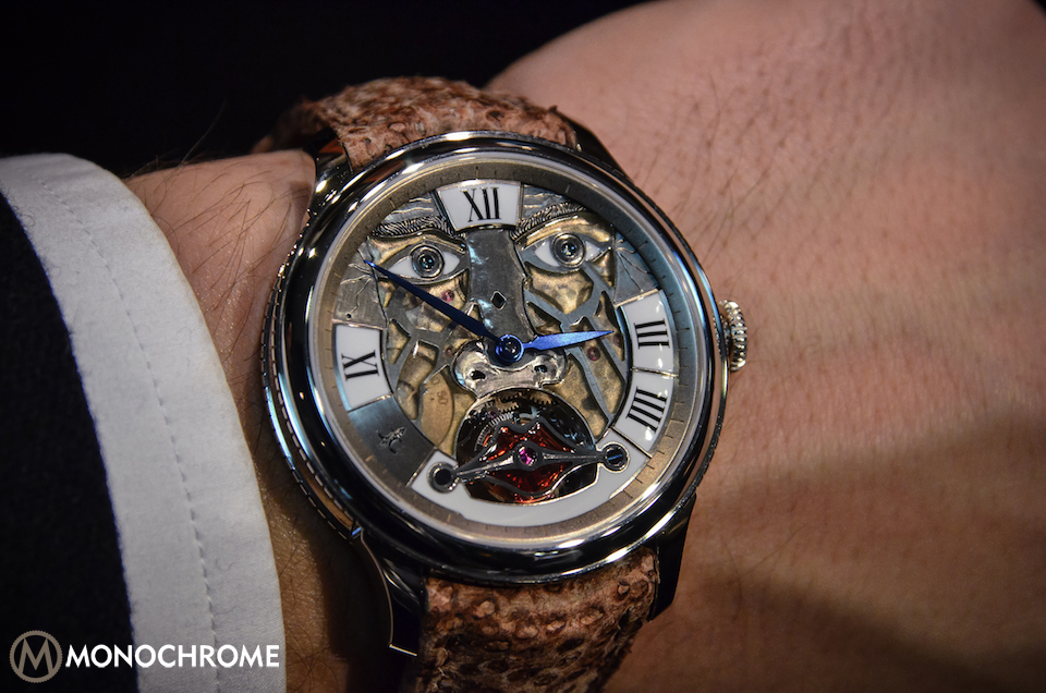 Julien Coudray - Competentia 1515 Humanoid Face
