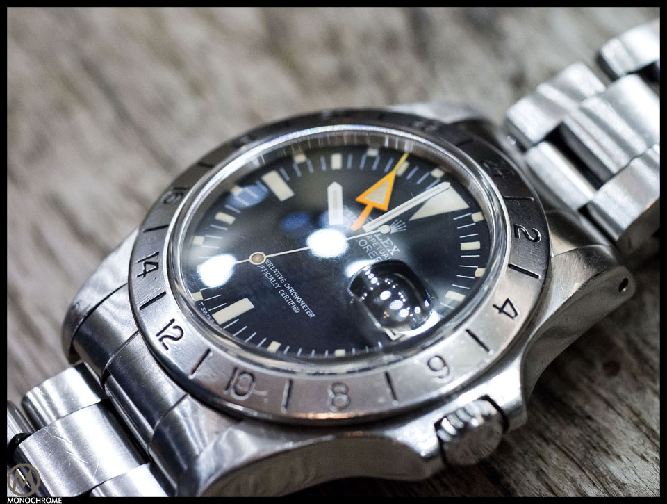 rolex explorer II orange hand