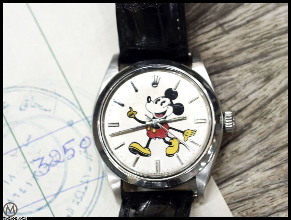 Rolex Datejust Mickey Mouse