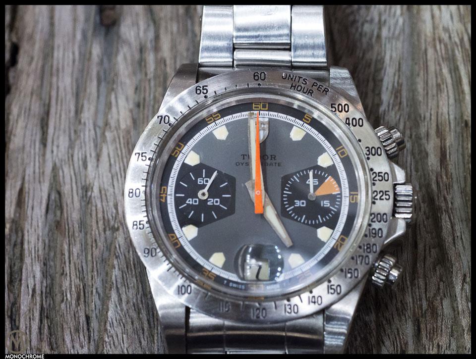 Tudor Monte Carlo chronograph