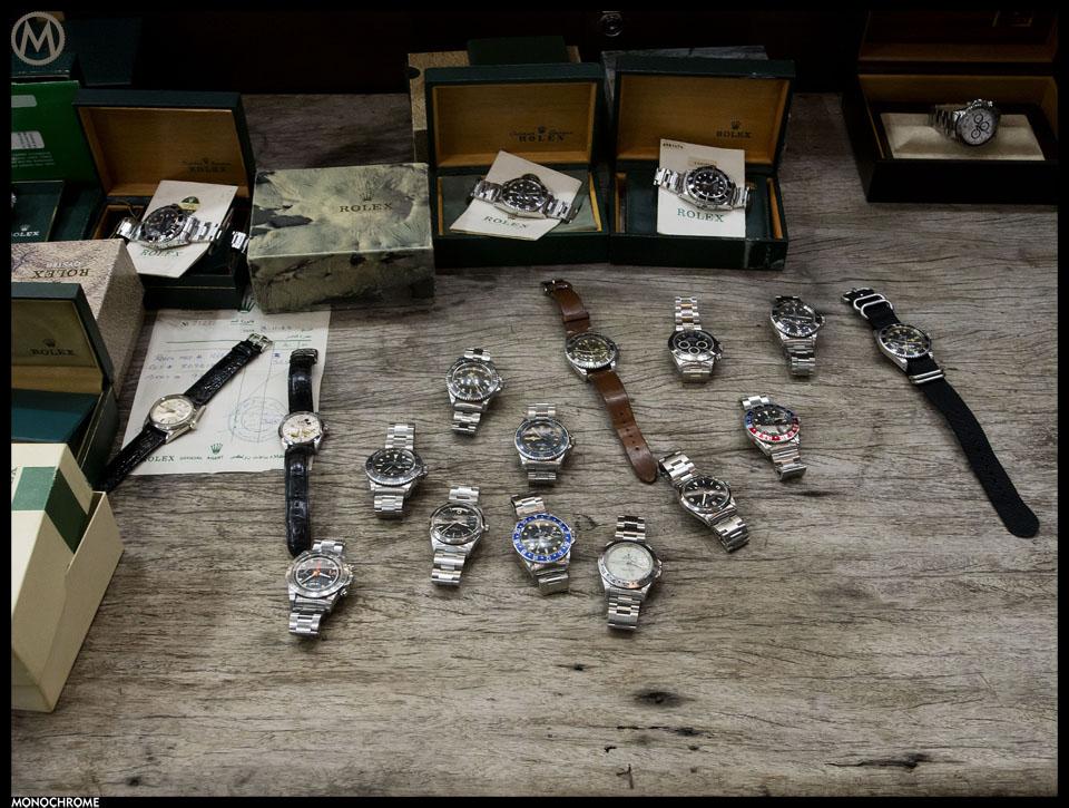 Vintage Rolex collection