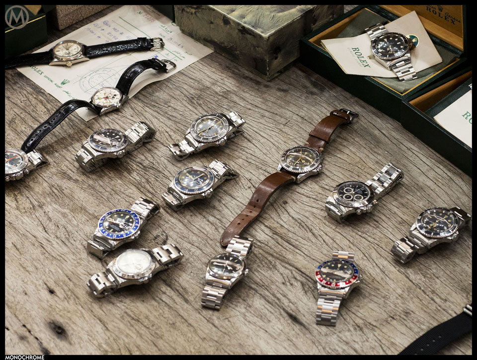Vintage Rolex collection