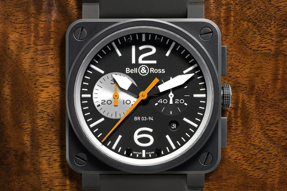 Bell&Ross BR03-94 Black-White
