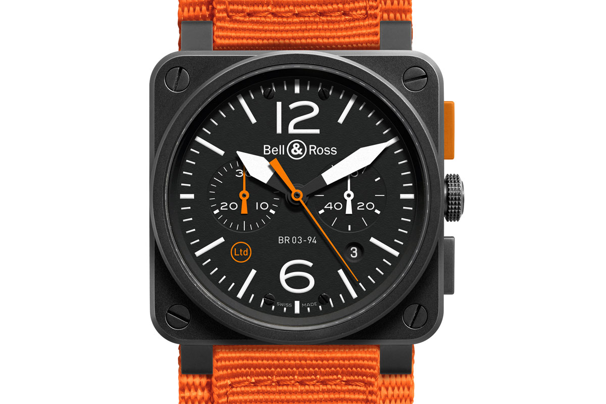 Bell&Ross BR03-94 Carbon Orange