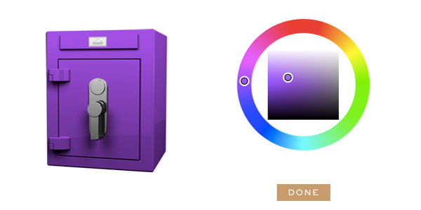Stockinger Cube safe purple