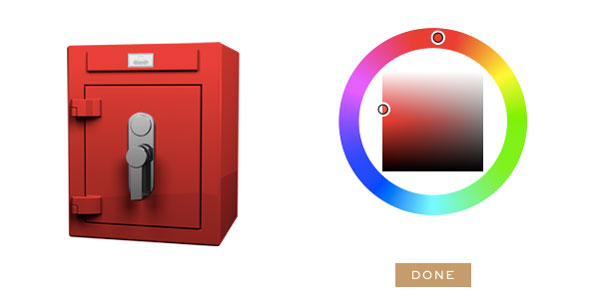 Stockinger Cube safe red