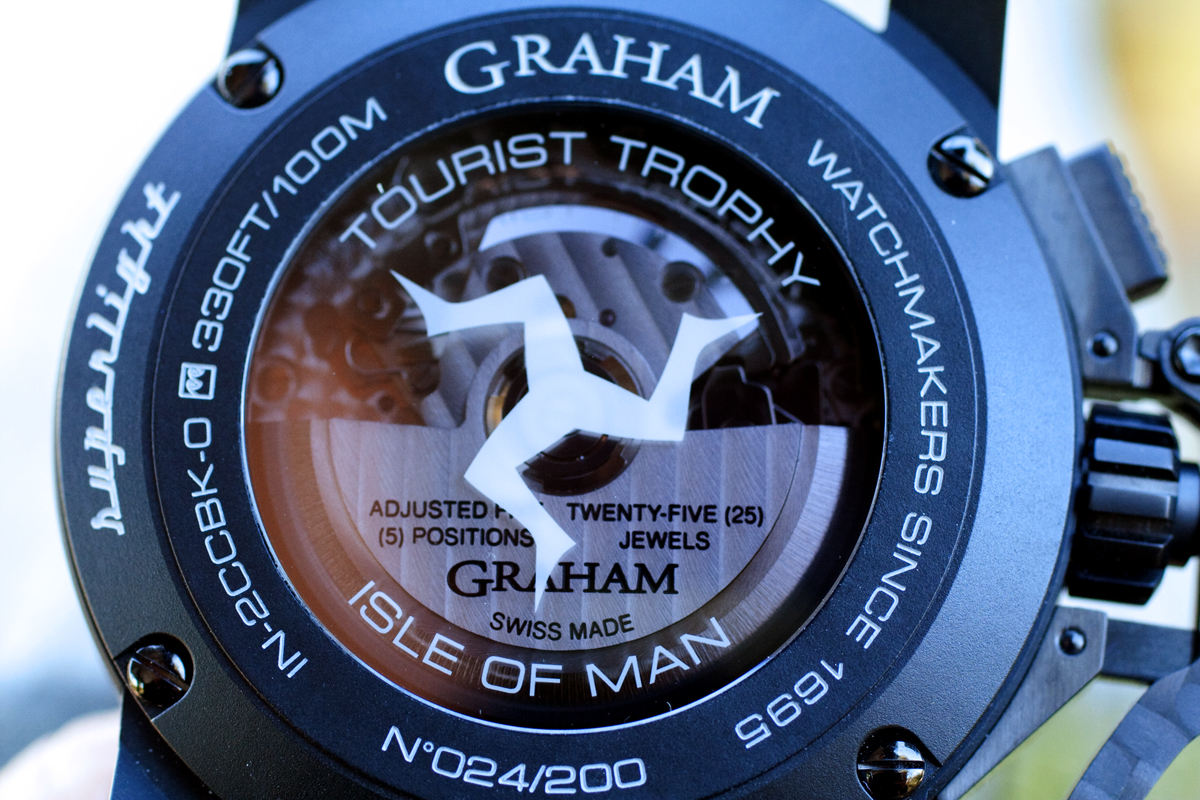 Graham Chronofighter Oversize Superlight TT