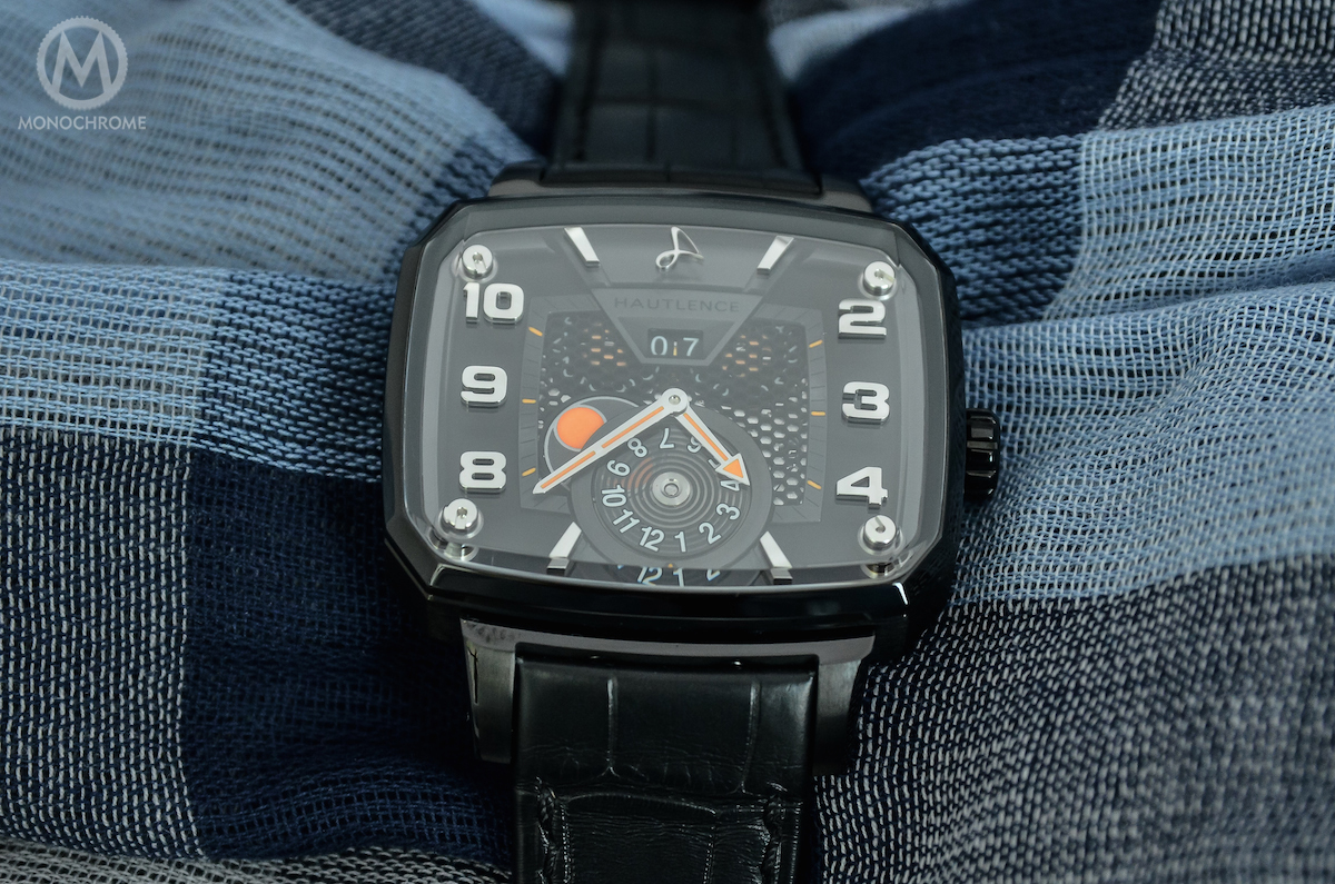 Hautlence Destination 03 Titanium black DLC