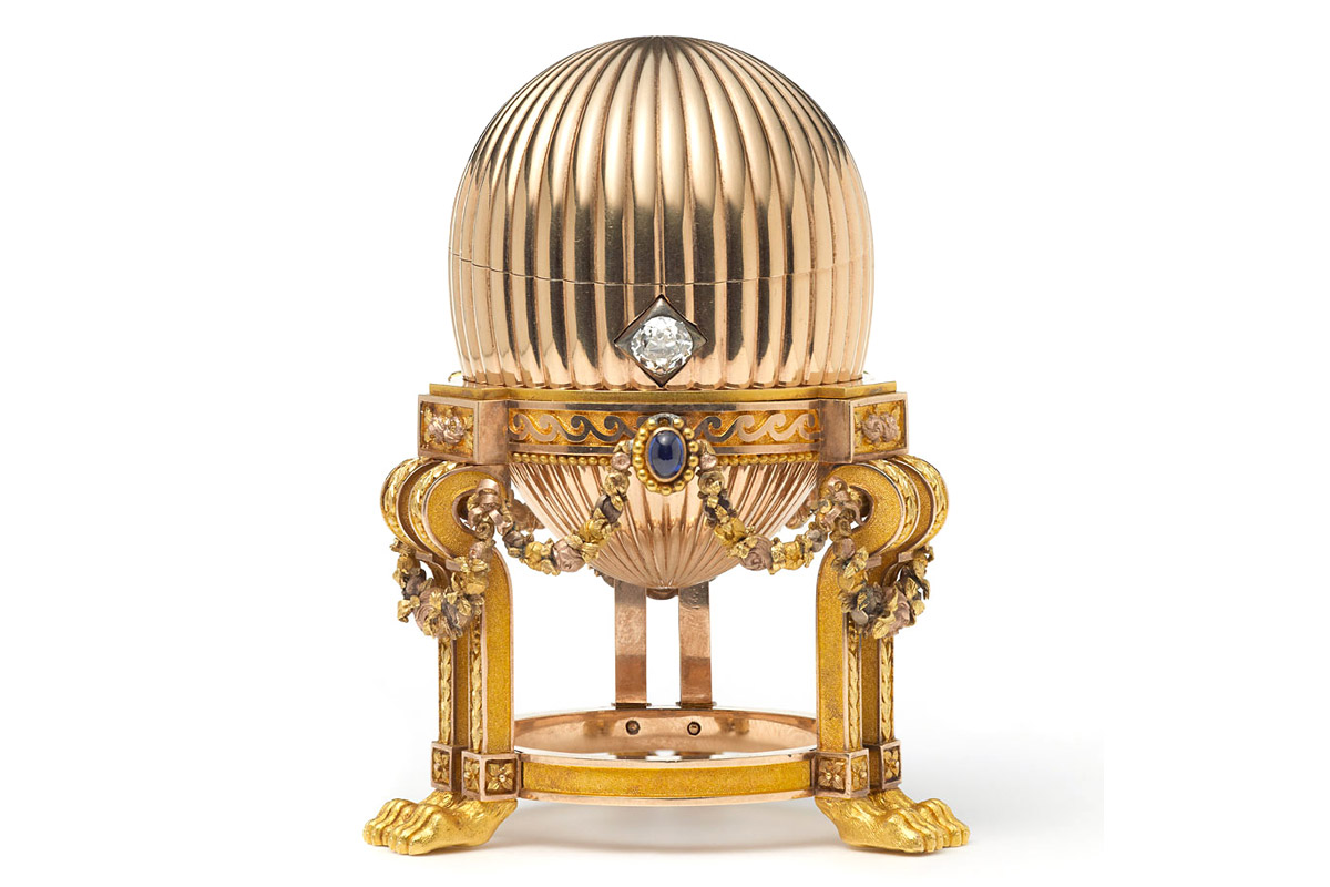 Missing third Fabergé Egg