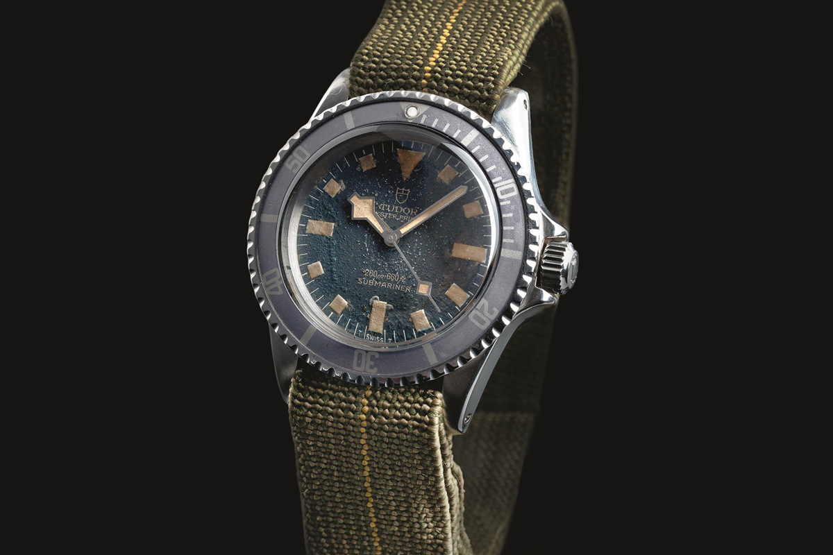 Tudor Submariner ref. 9401 Marine Nationale