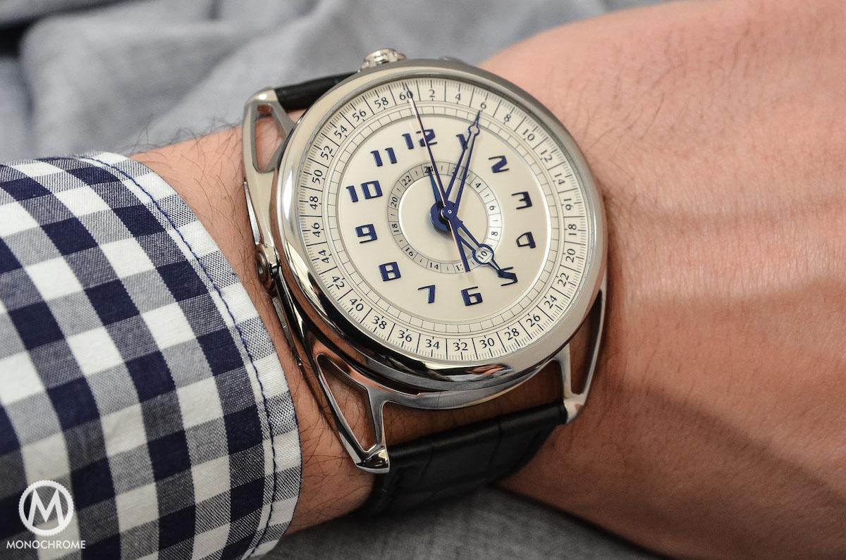 De Bethune DB28 Maxi Chrono - wristshot