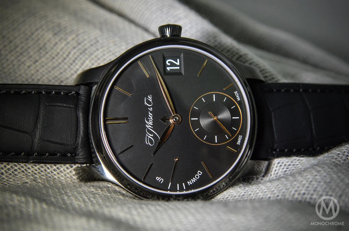 H. Moser Perpetual Calendar Black DLC Titanium