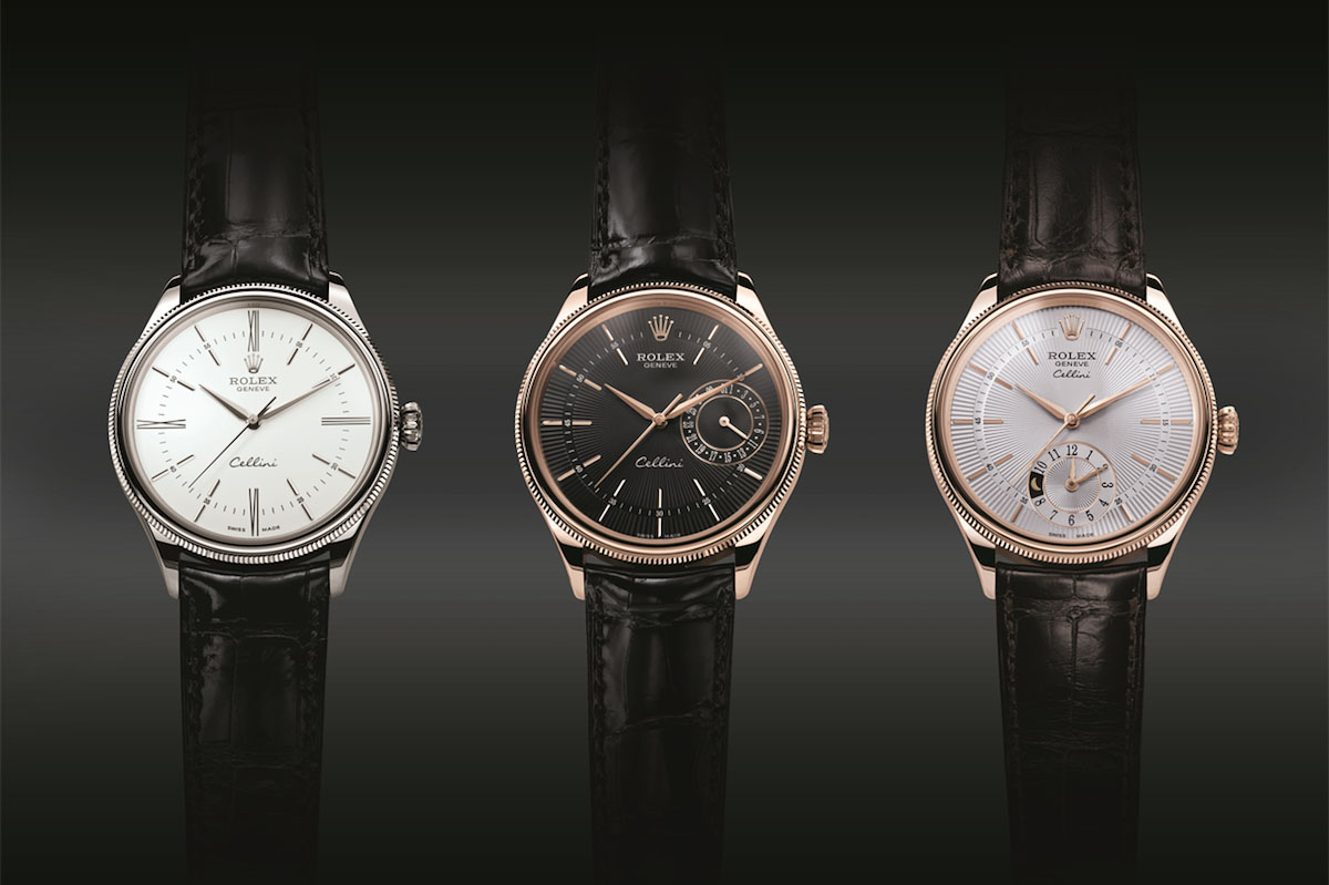 Rolex Cellini Collection - Time - Date - Dual Time