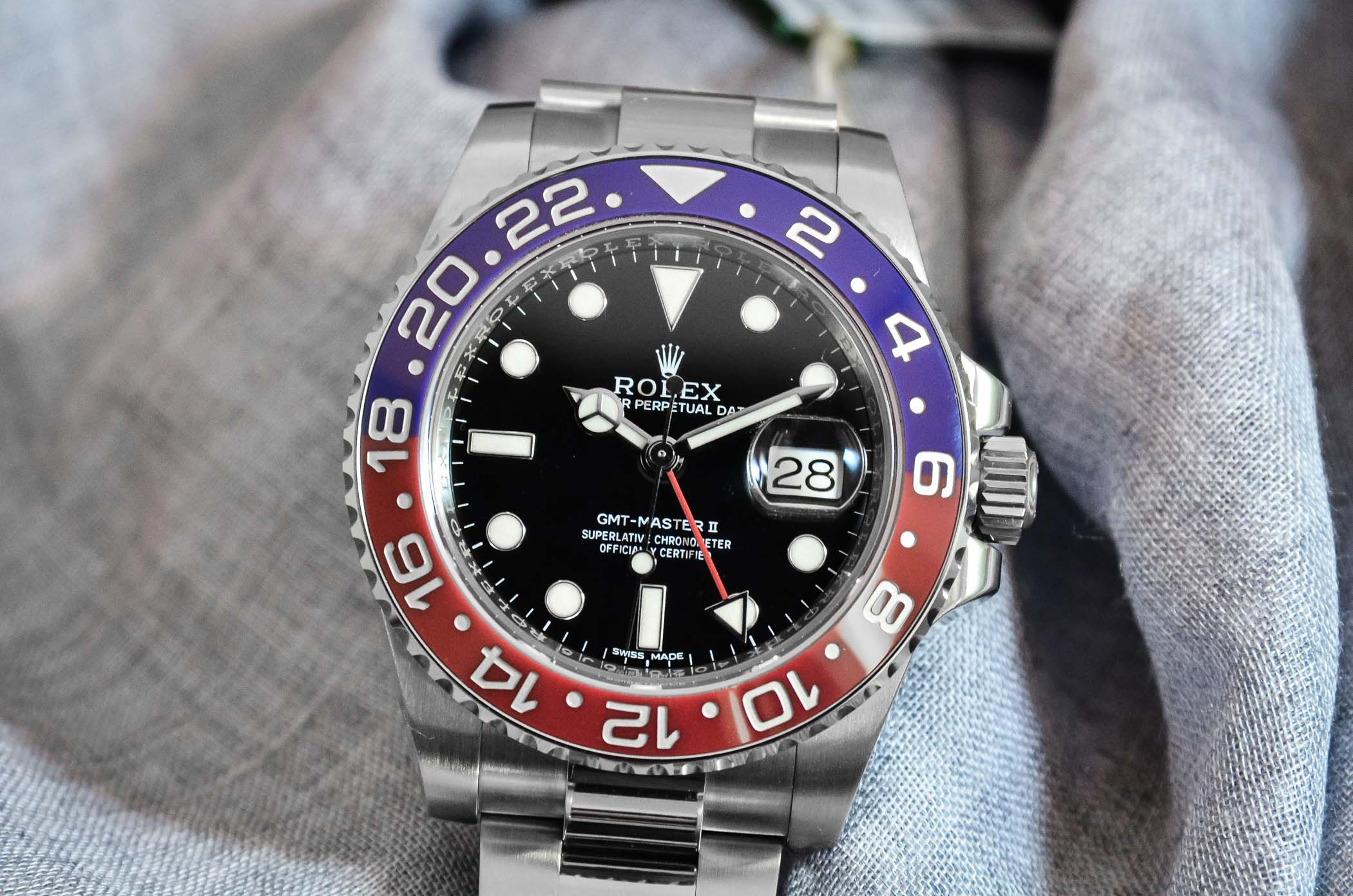 Introducing the Rolex GMT,Master II Pepsi ref. 116719BLRO