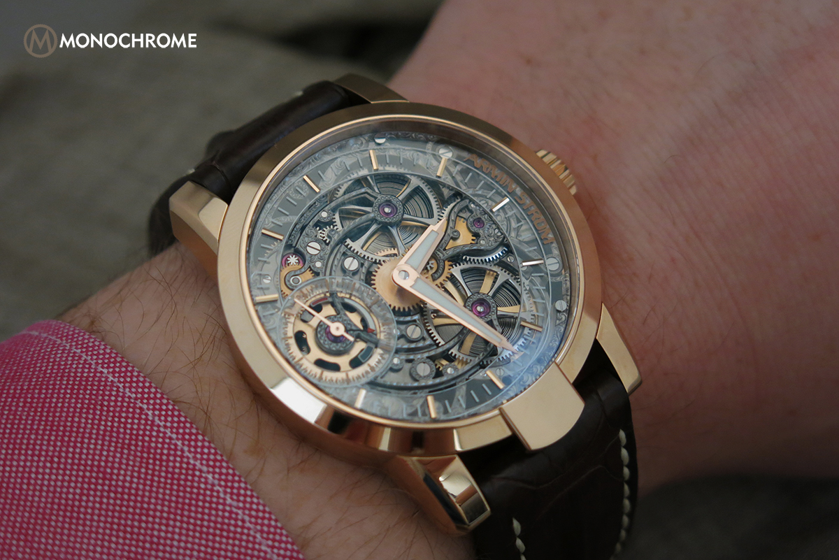 Armin Strom One Week Skeleton Rose Gold