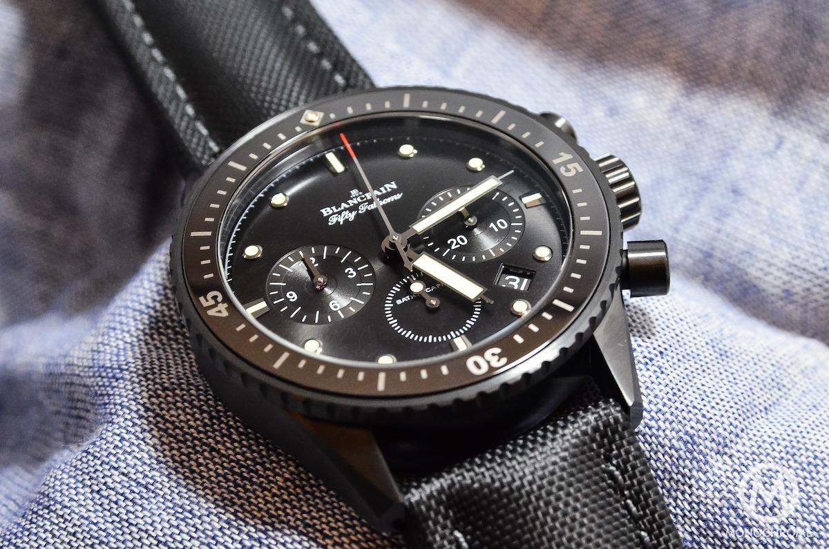 Blancpain Bathyscaphe Chronographe Flyback black - 1