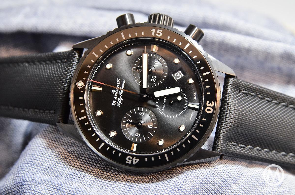 Blancpain Bathyscaphe Chronographe Flyback black - 2