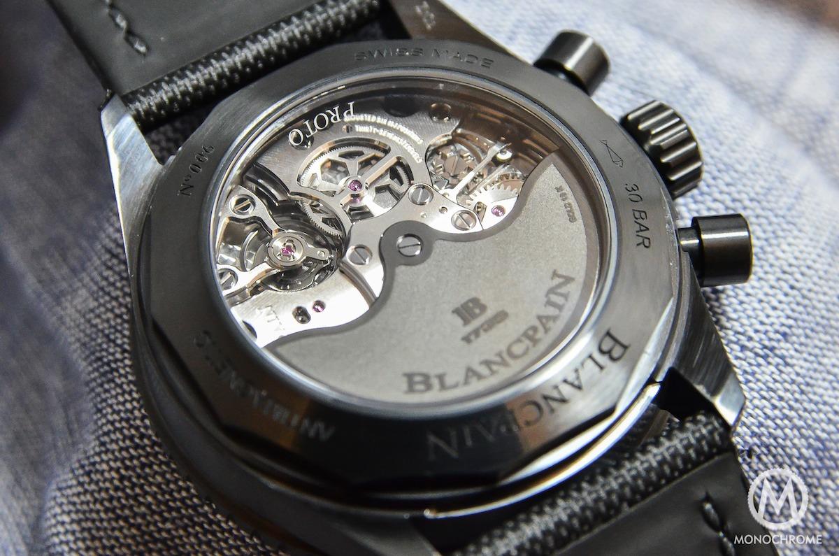 Blancpain Bathyscaphe Chronographe Flyback black - 3