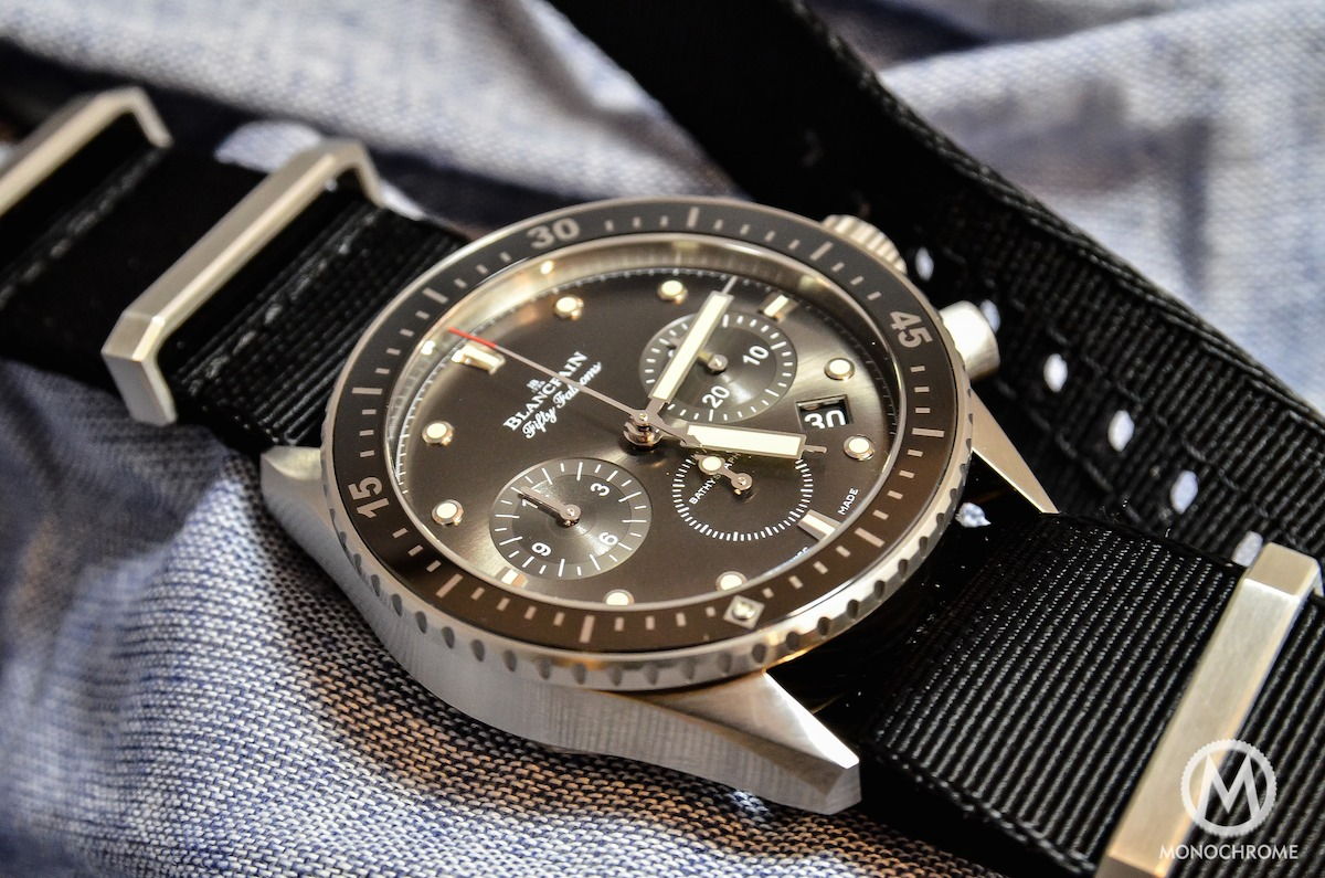 Blancpain Bathyscaphe Chronographe Flyback steel - 2