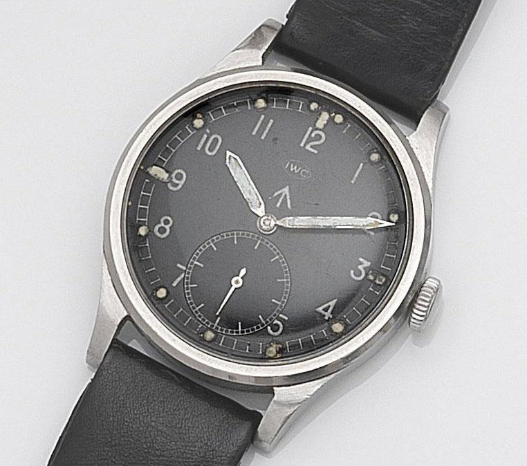 IWC W.W.W. military watch - LOT 118
