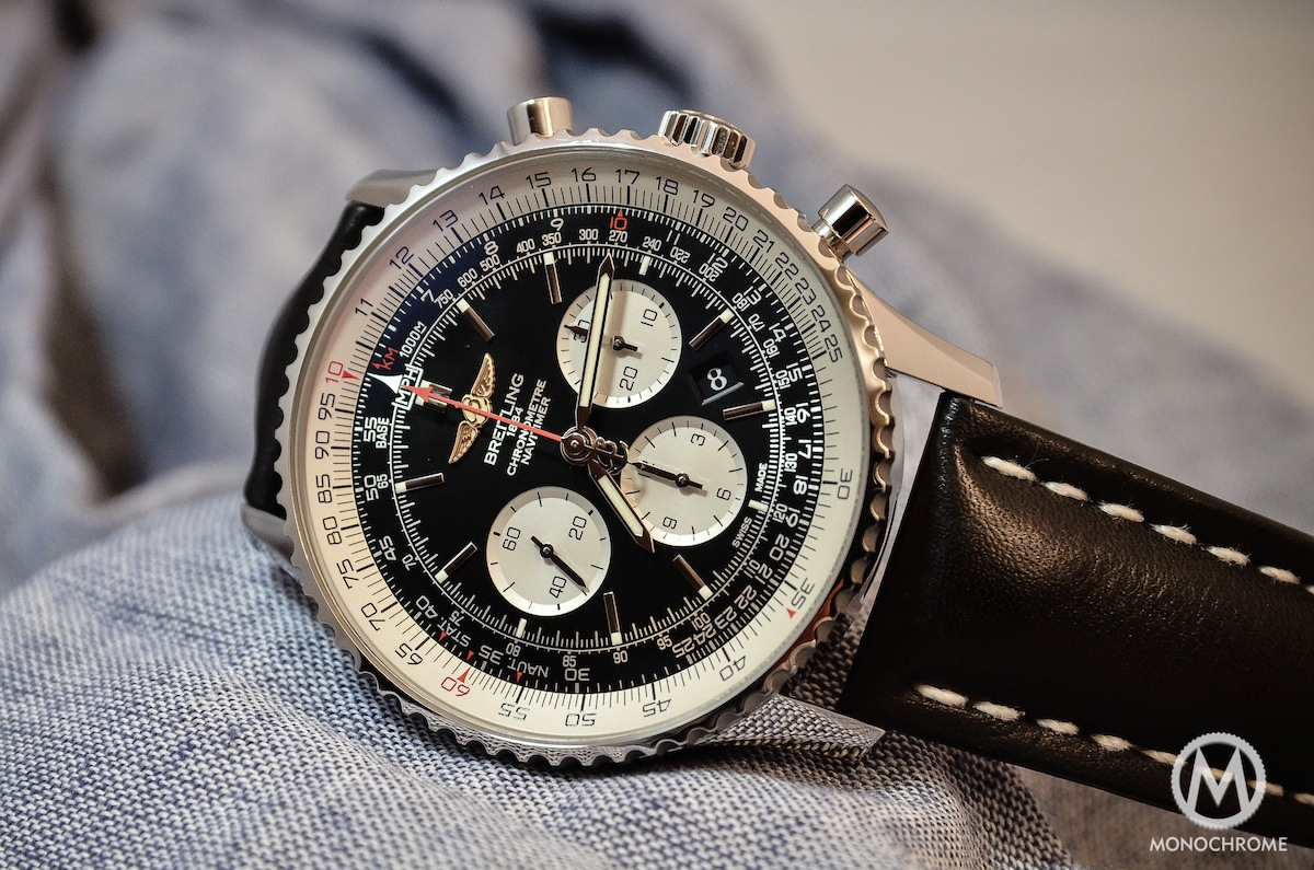 Introducing The Breitling Navitimer 01 In 46mm Monochrome Watches