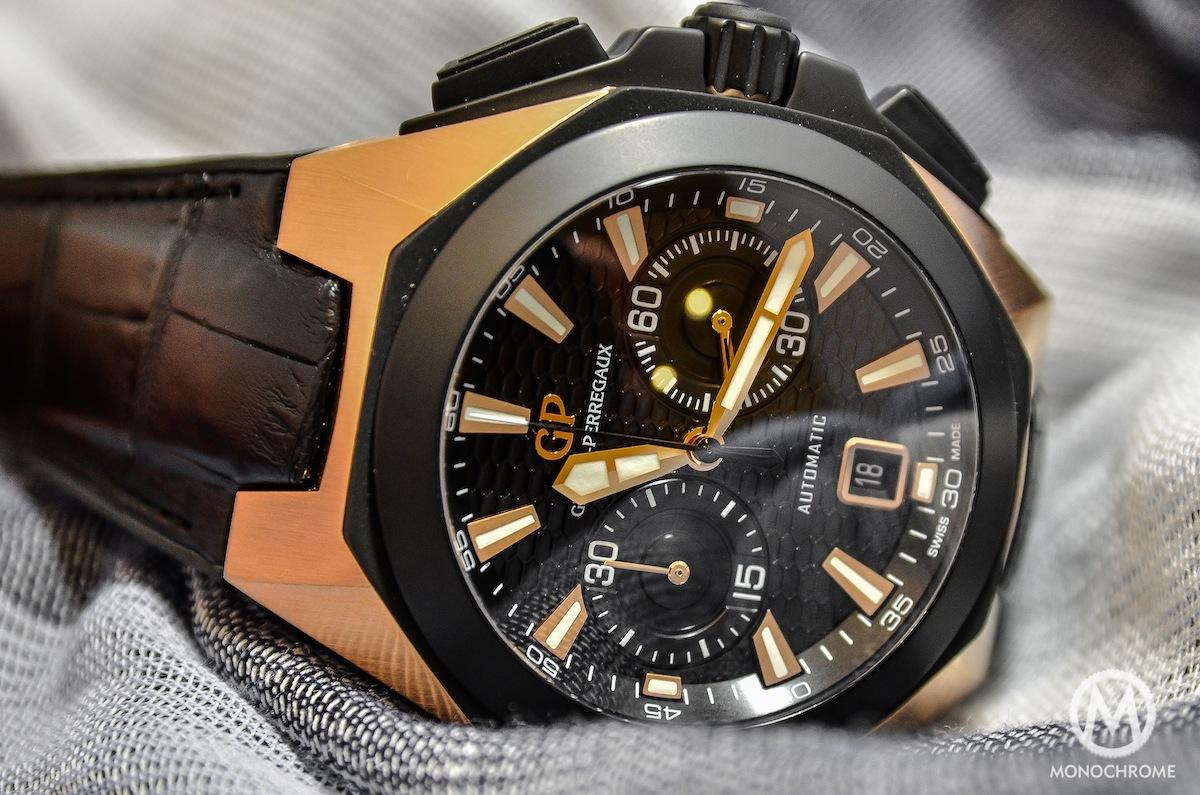 Girard-Perregaux Chrono Hawk Pink Gold - 2