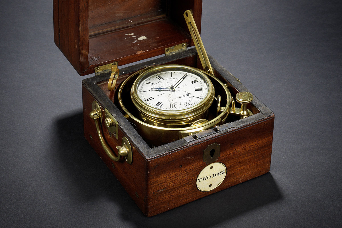 HMS Beagle Marine chronometer
