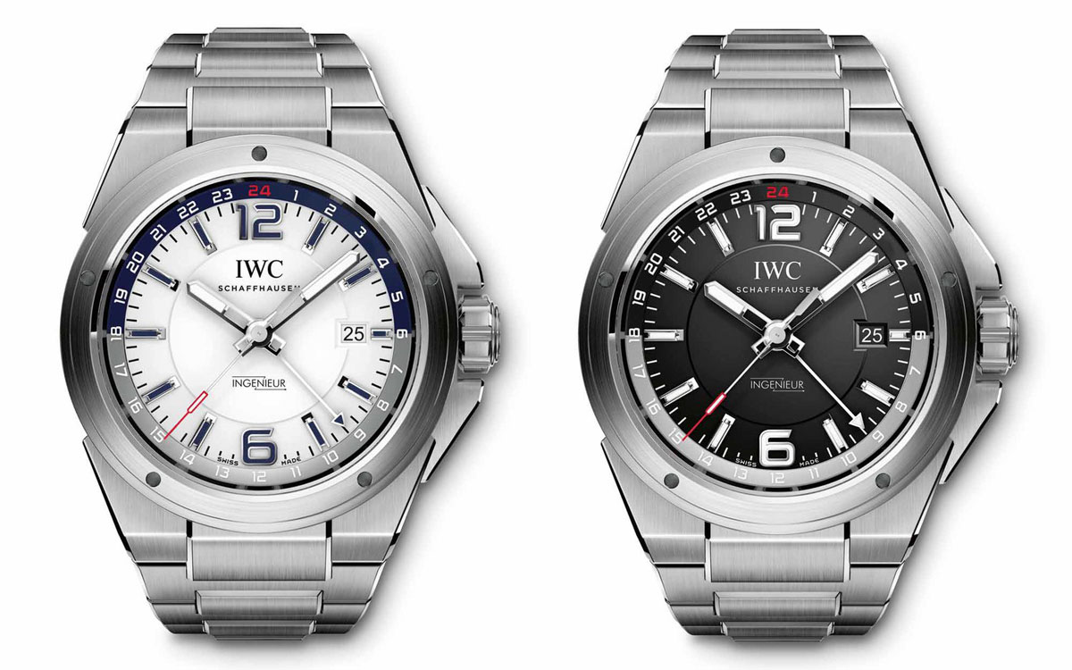 IWC Ingenieur Dual Time IW324404 and IW324402