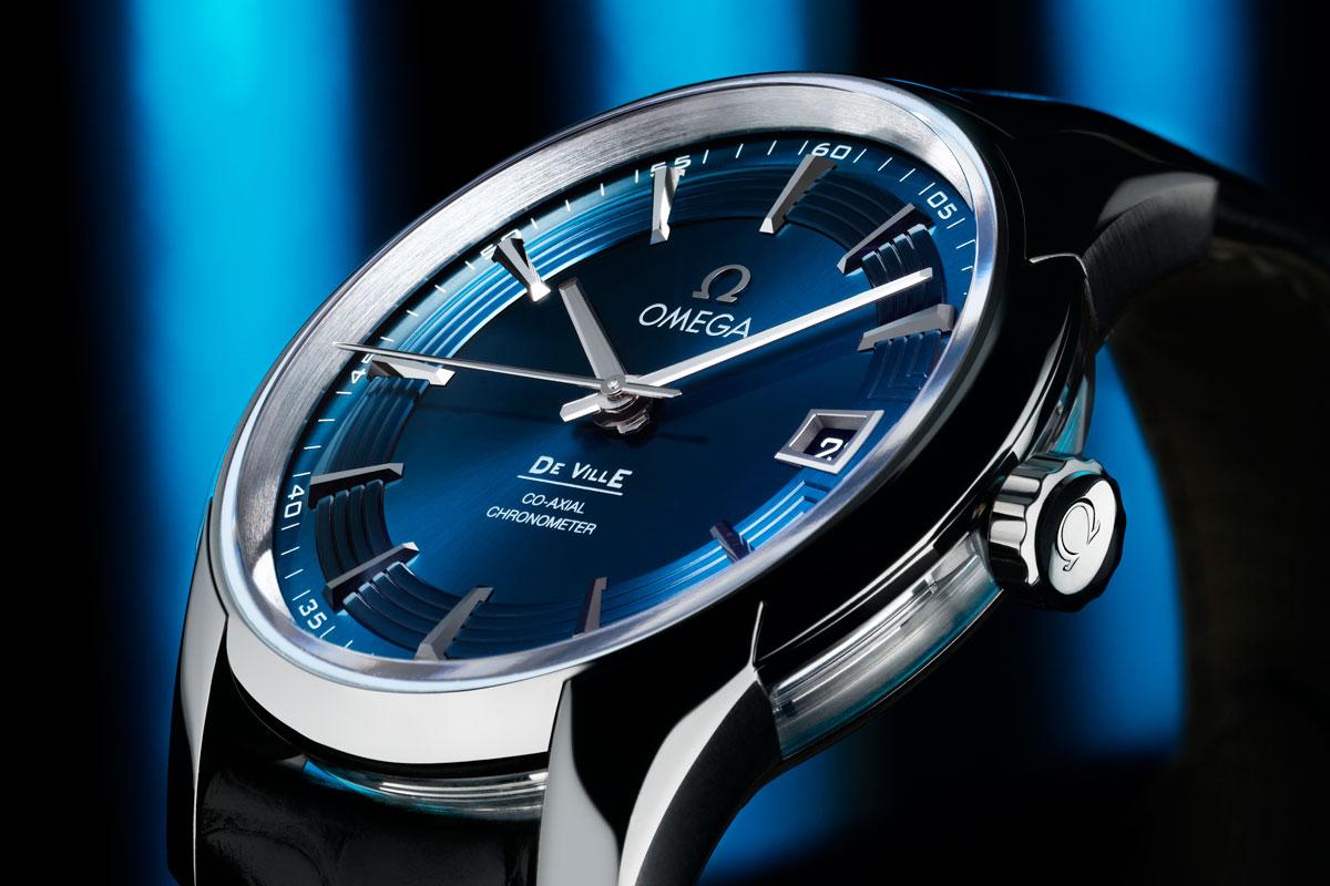 Omega DeVille Hour Vision Blue for Orbis