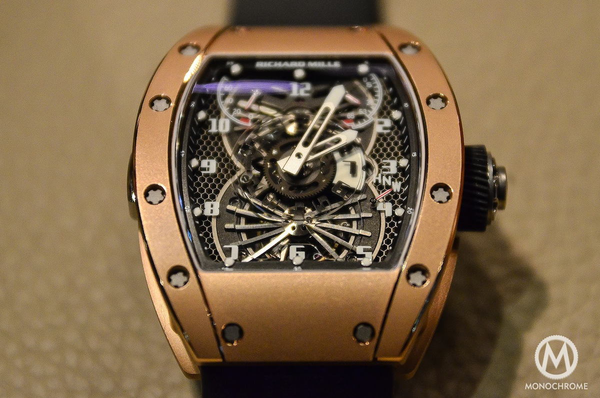 Hands On With The Richard Mille Rm 022 Aerodyne Dual Time Zone