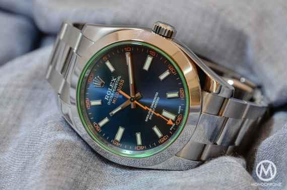 Rolex Milgauss Blue 116400GV - 1