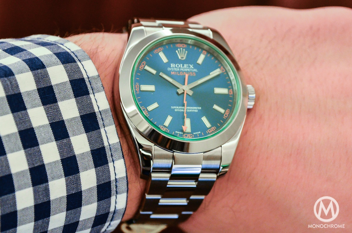 Hands,on with the Rolex Milgauss Blue Ref. 116400GV