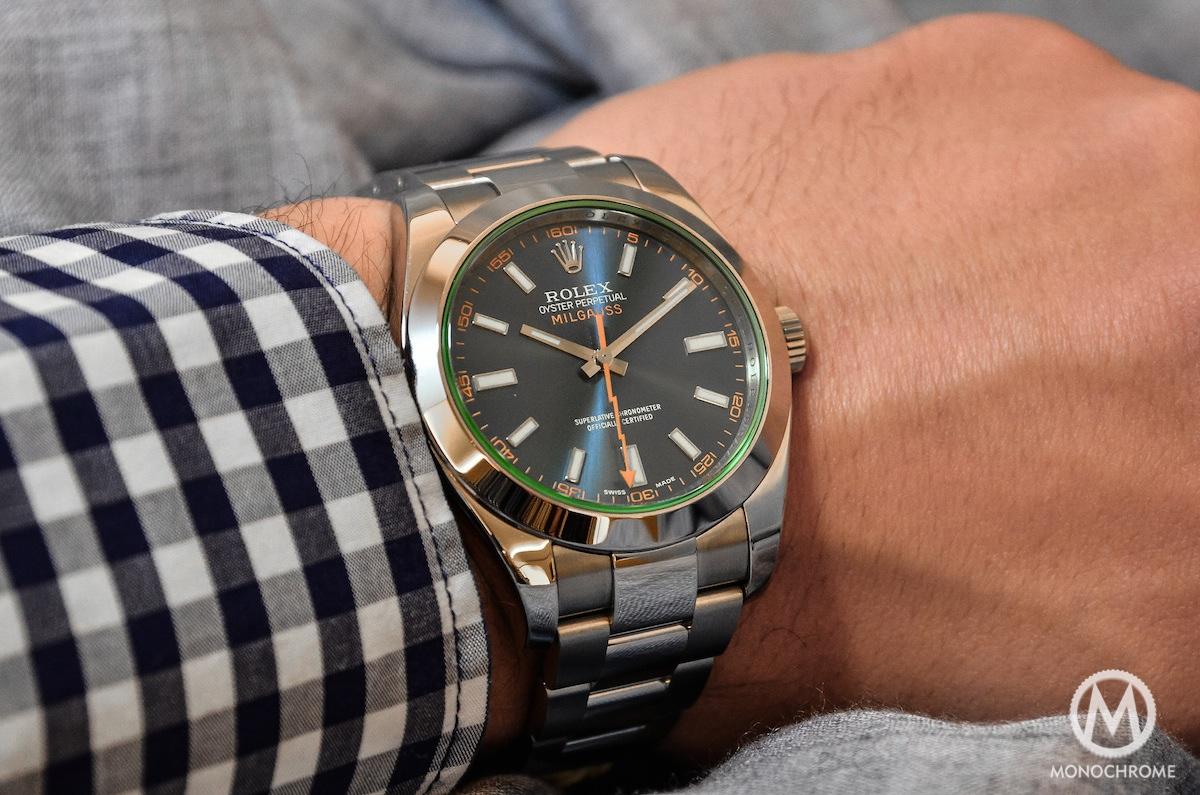 Rolex Milgauss Blue 116400GV - 3