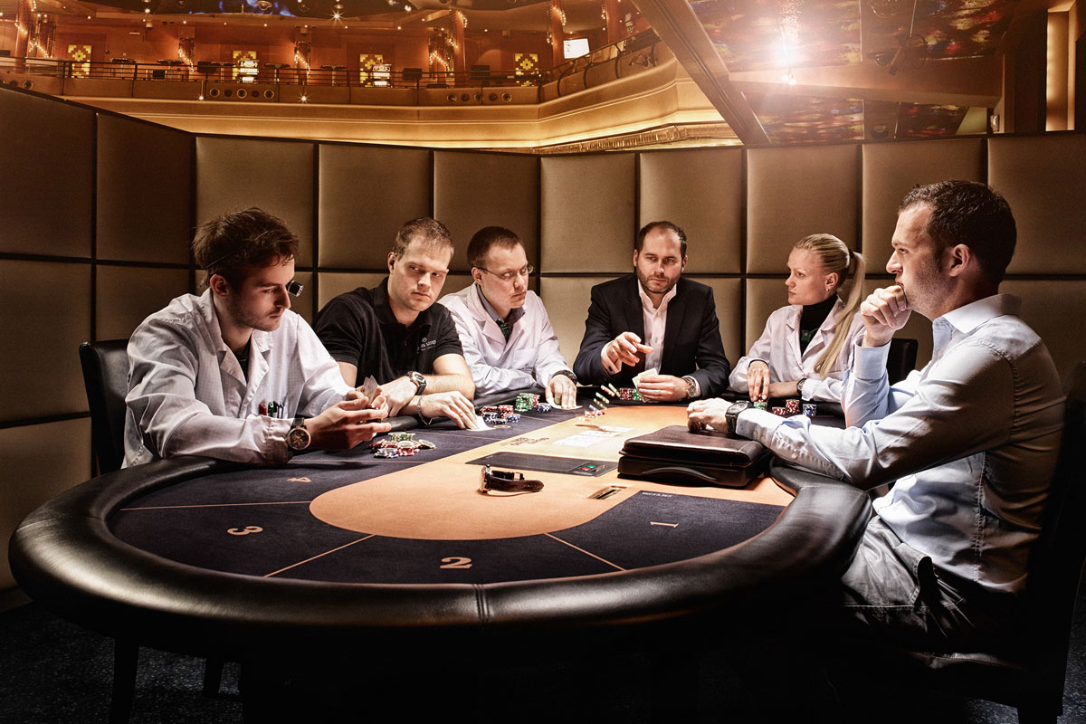 Armin Strom team poker