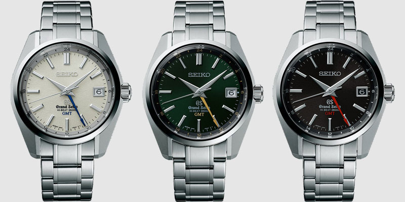 Grand Seiko GMT Hi-Beat 36000 collection