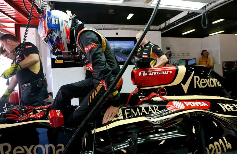 Romain Grosjean RM 011 Team Lotus F1