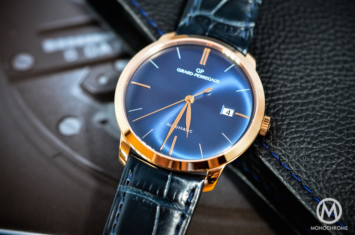 Girard Perregaux 1966 blue dial - 13