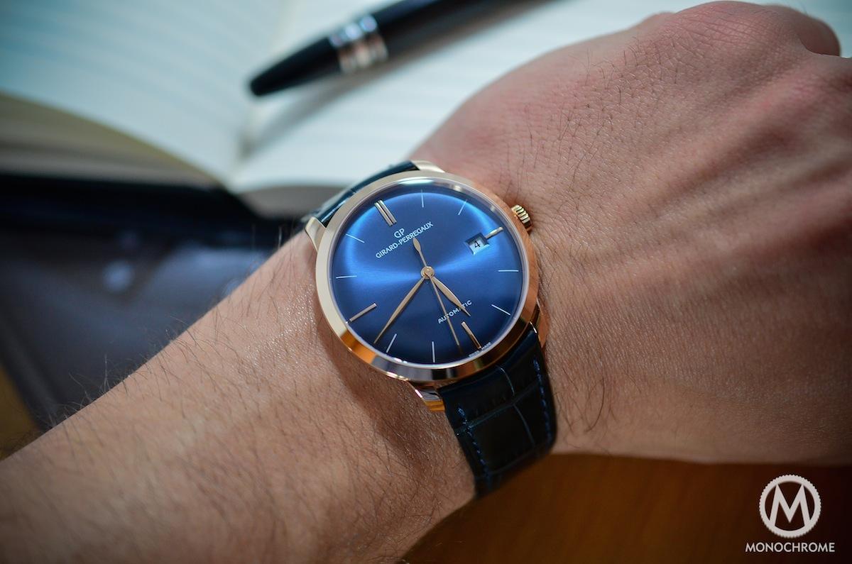Girard Perregaux 1966 blue dial - 16