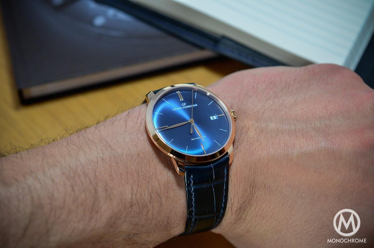 Girard Perregaux 1966 blue dial - 17