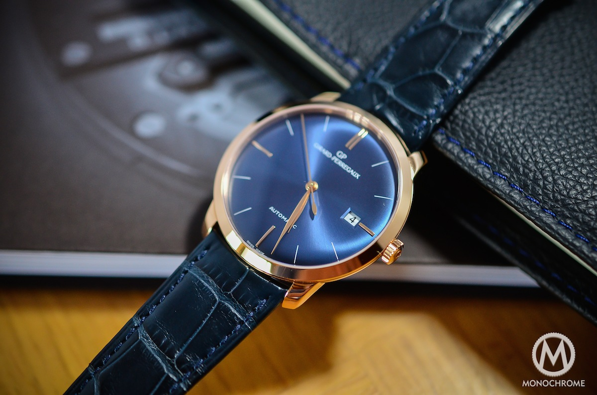Girard Perregaux 1966 blue dial - 8