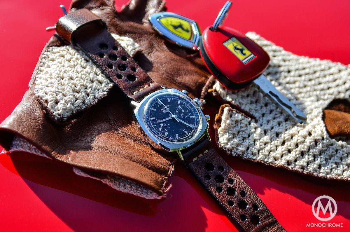 Heuer Camaro Rally strap Monochrome - 14