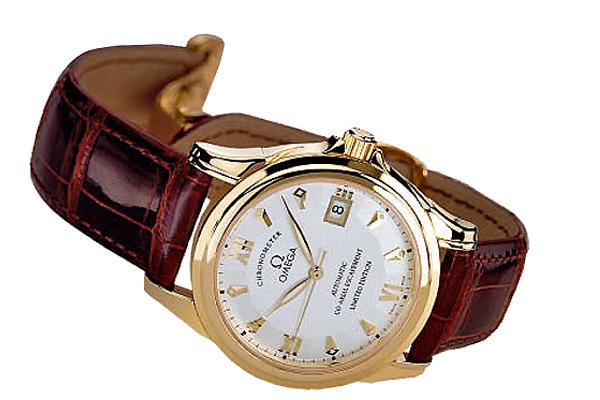 Omega chronometer co-axial
