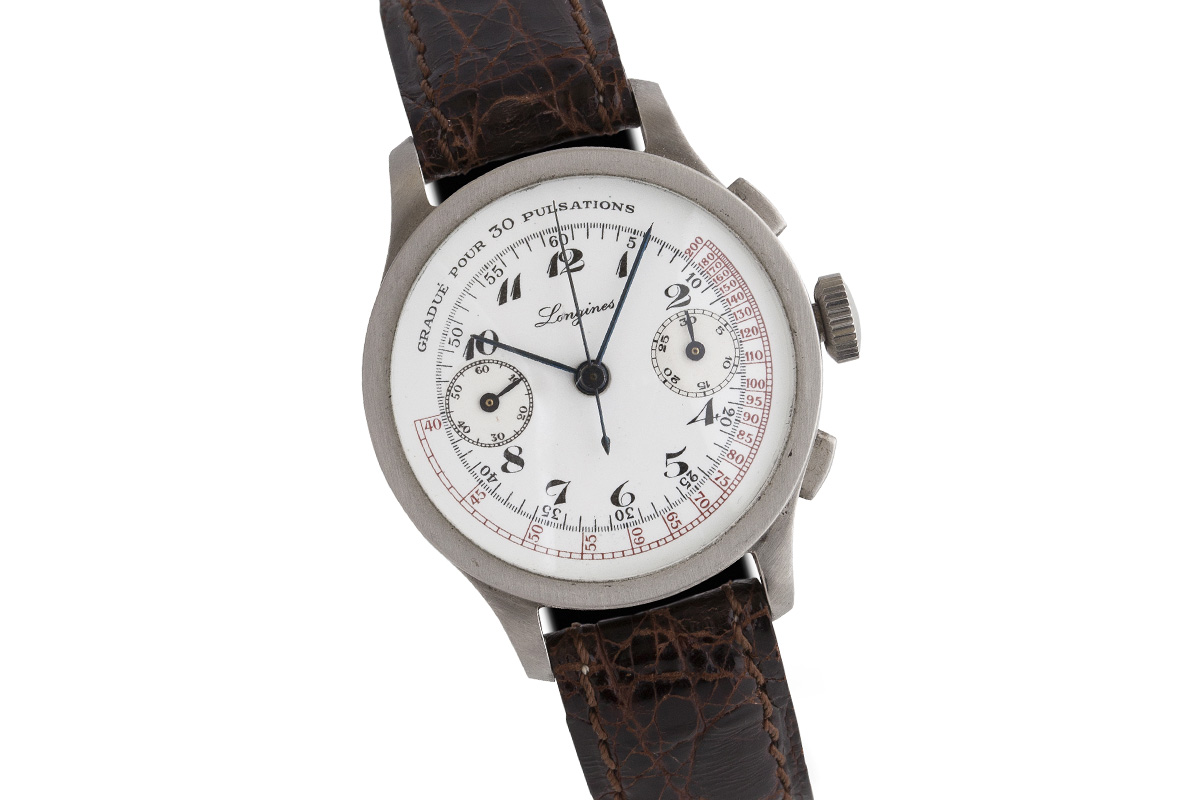 longines medical chronograph