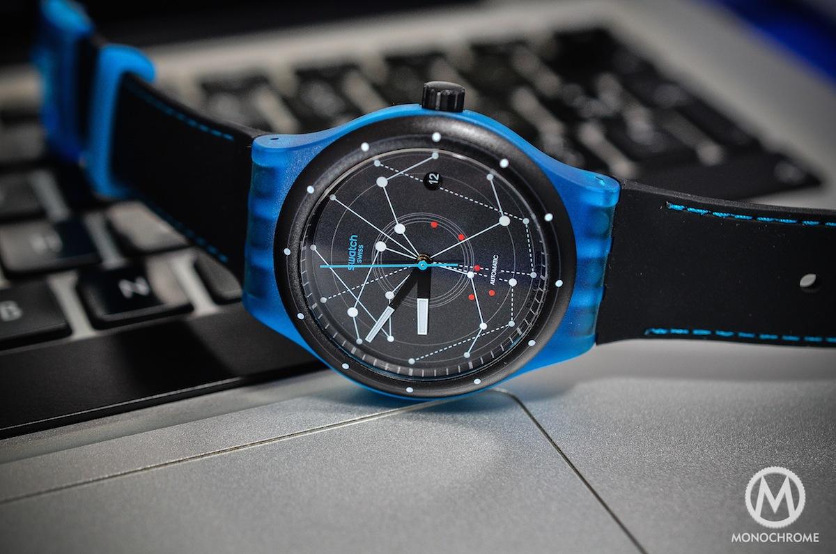 swatch sistem51 blue - 1
